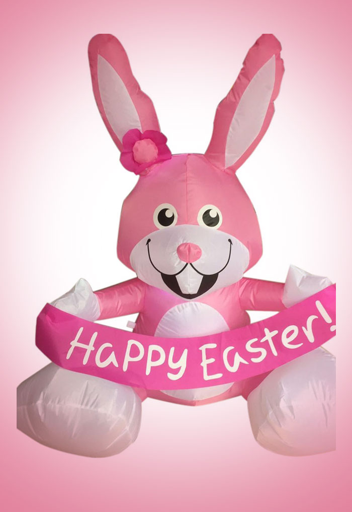 4-Ft-Inflatable-Easter-Rabbit-Airblown-Bunny