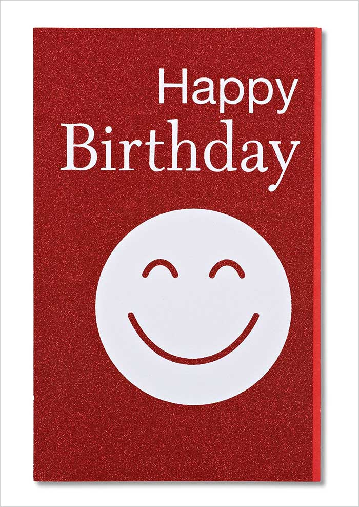 American-Greetings-Smiley-Birthday-Card-with-Glitter