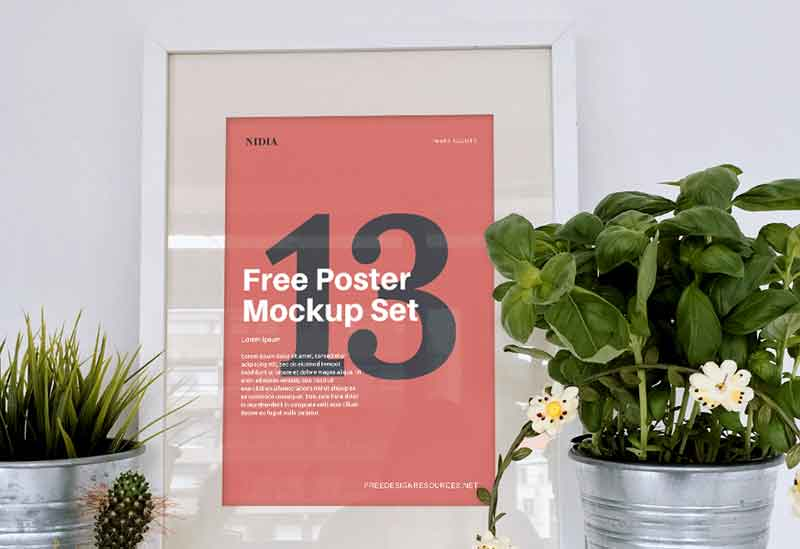 13-Free-Poster-Mockups