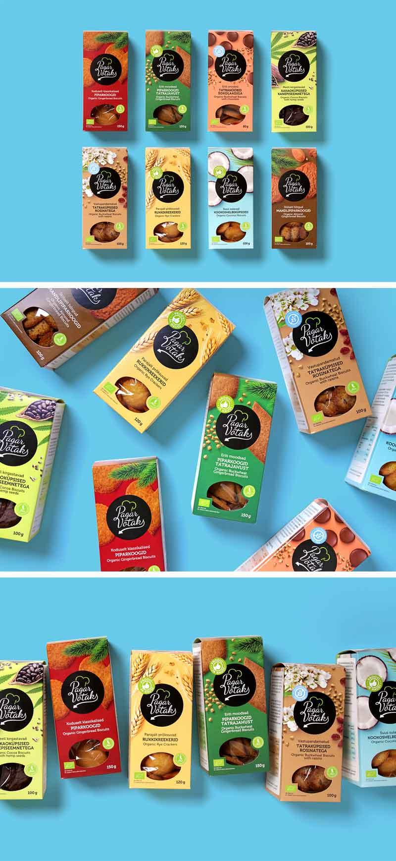 Cookies Packaging Design Ideas
