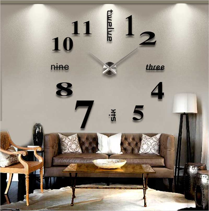 Chinatera-Modern-Mute-DIY-Large-Wall-Clock-3D-Sticker-Home-Office-Decor-Gift