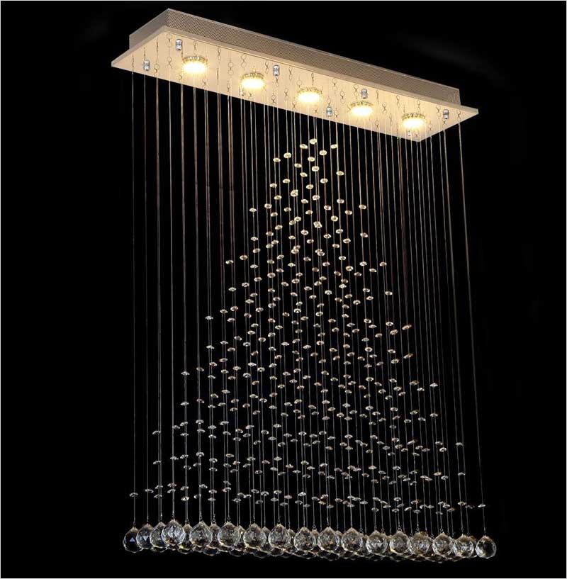 Contemporary-Modern-Crystal-Rain-Drop-Chandelier-Lighting