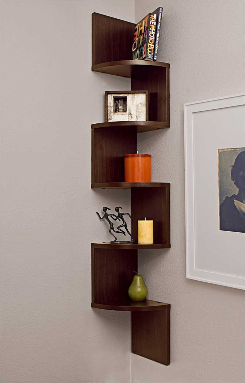 Danya-B.-Large-Corner-Wall-Mount-Shelf---Walnut