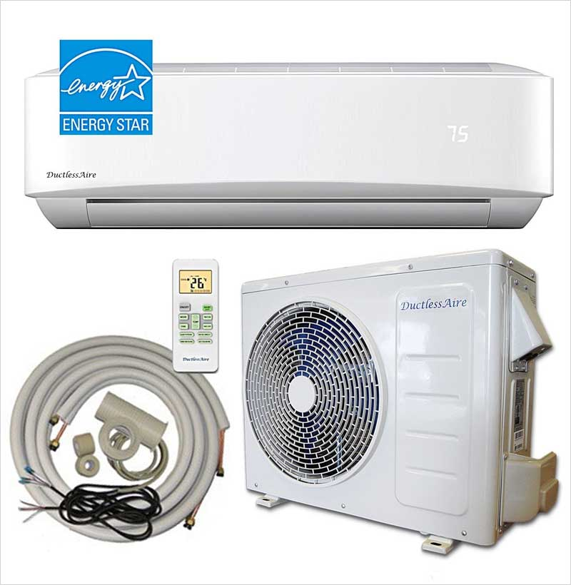 DuctlessAire-18,000-BTU-21-SEER-Energy-Star-Ductless