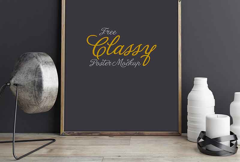 Free-Classy-Poster-Mockup