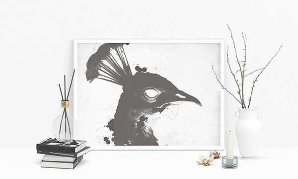 Free-Poster-MockUp-Scene-PSD