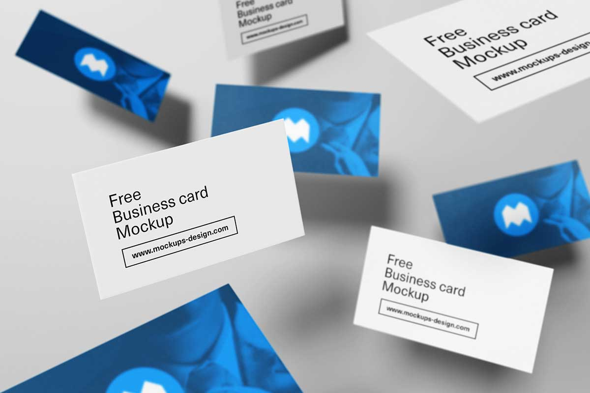 Free-business-cards-mockup-Psd