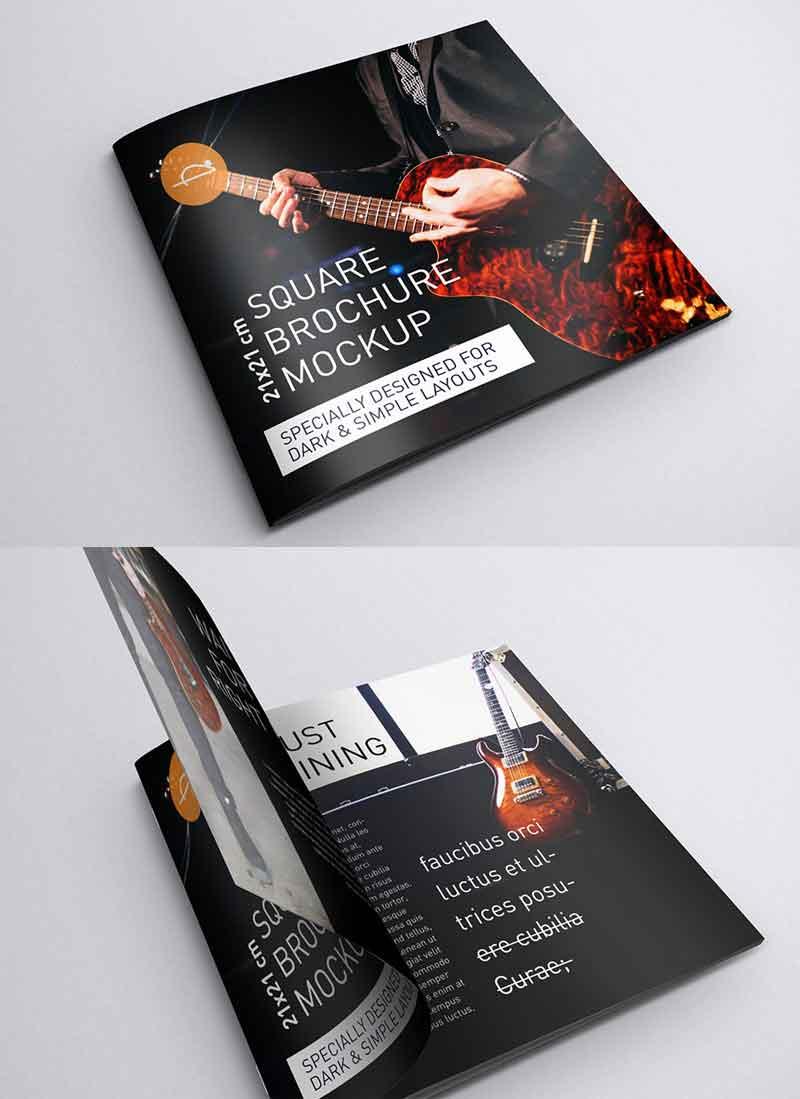 Free-square-brochure-mockups