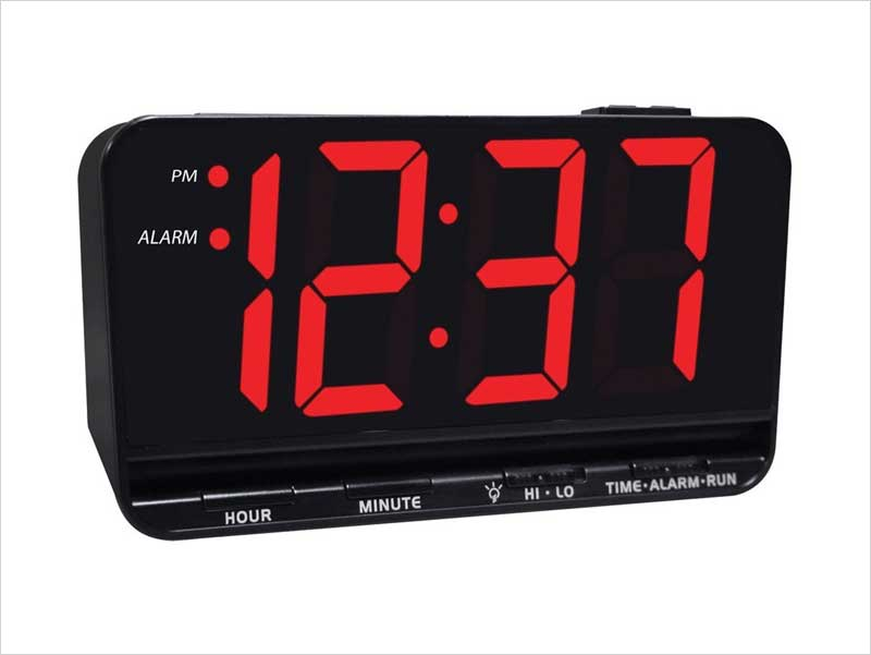 Jumbo-Display-Digital-Alarm-Clock