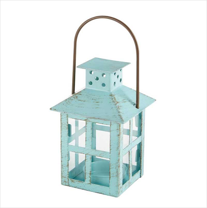 Kate-Aspen-Vintage-Lantern,-Blue