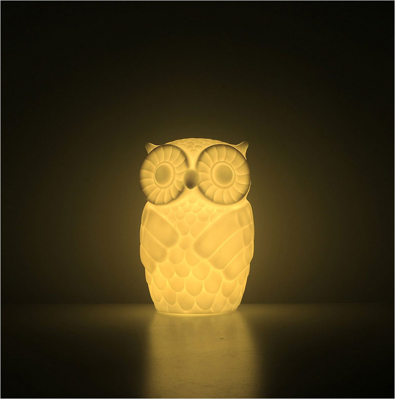 Mojocraft-Serenity-the-Owl-Battery-Powered-Decorative-Claylike-Night-Light-with-Timer,
