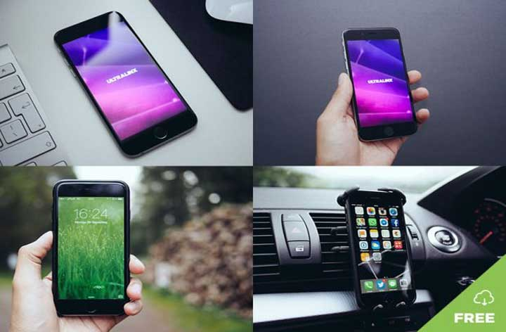 Natural-iPhone-Free-Mockup-Templates