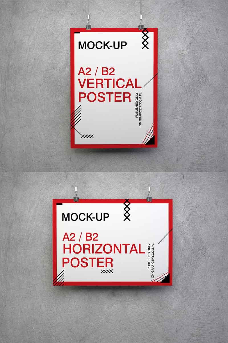 Poster-set-mockups