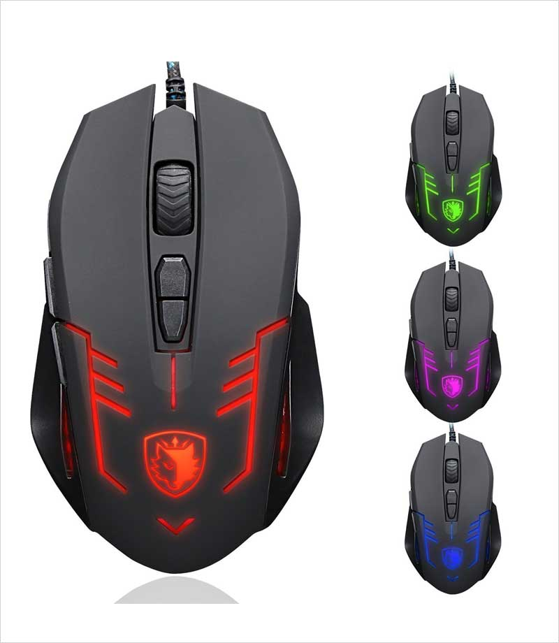 Sades-S6-Cataclysm-USB-PC-Gaming-Mouse-with-LED-Lights---Black