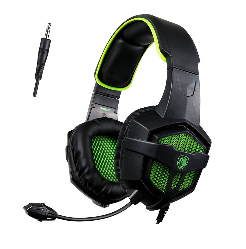 Sades-SA807-Gaming-Headset-for-Xbox-one-PC---Green