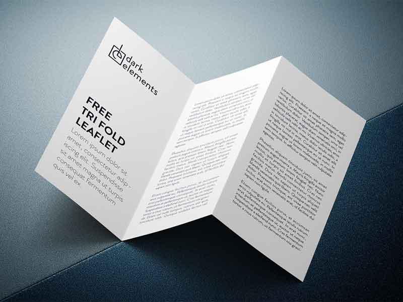 Trifold-leaflet-mockup