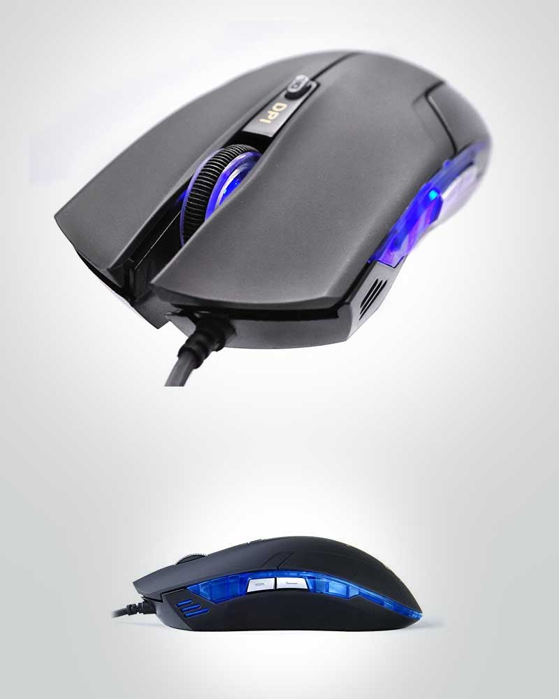 Vikoto®-Cobra-Junior-1600dpi-Gaming-Mouse-Red-LED-Light