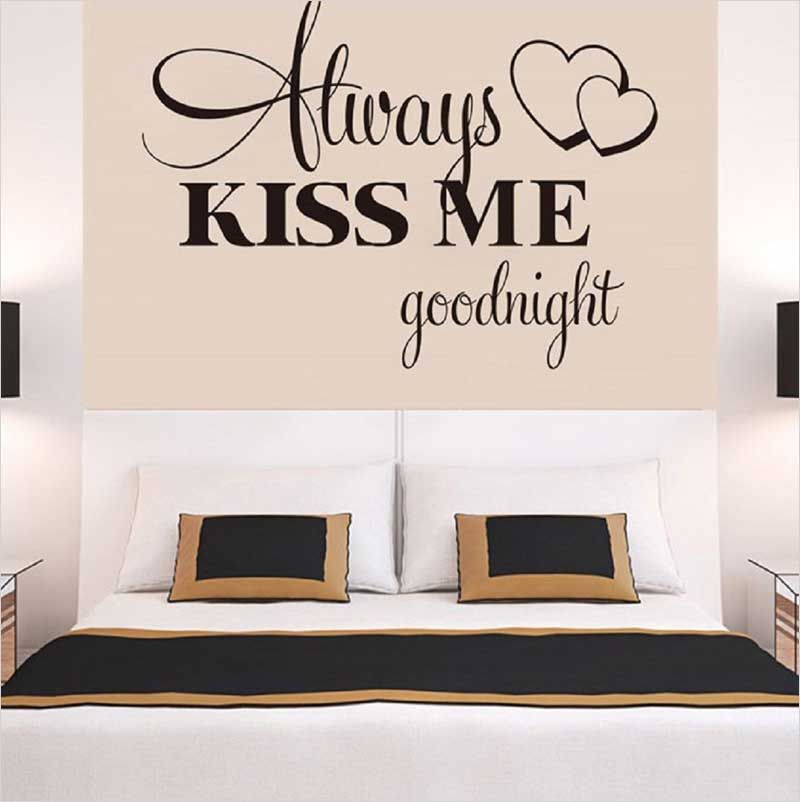 Wall-Stickers-,Ikevan-Always-Kiss-Me-Goodnight-Wall-Sticker