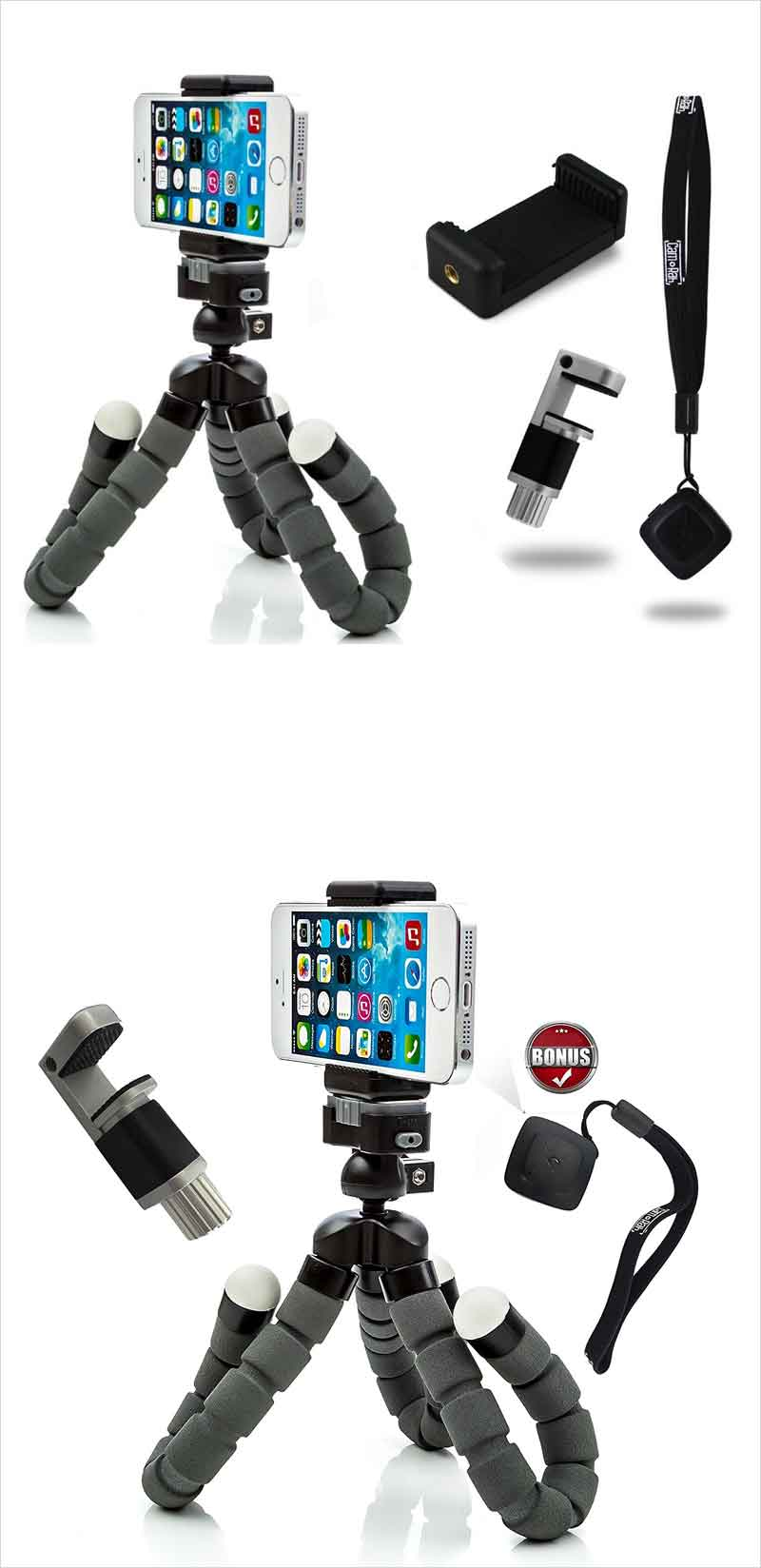 CamRah-Flexible-Tripod-Pro-Series-with-Bluetooth-Shutter
