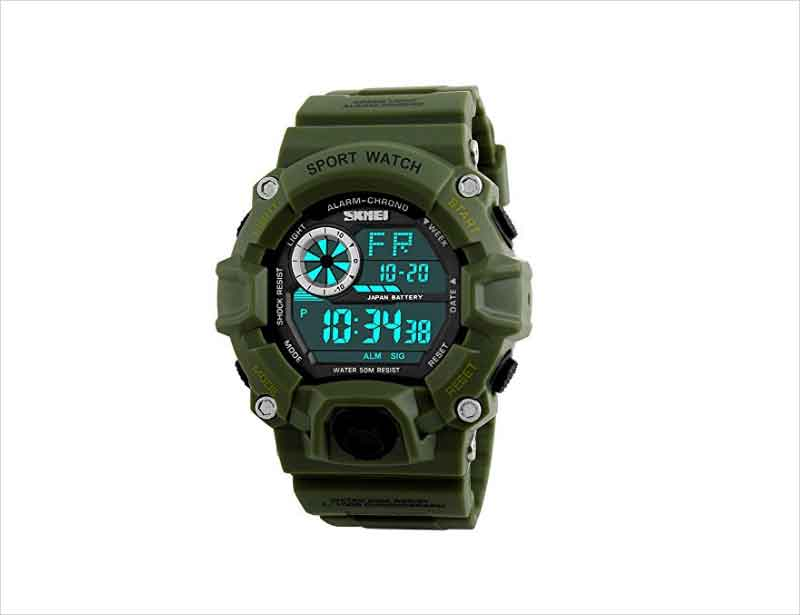Fanmis-Men's-Digital-50M-Waterproof-Electronic-Sport-Watch