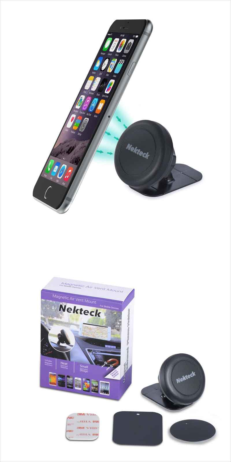 Nekteck Universal Stick on Dashboard Magnetic Car Mount H