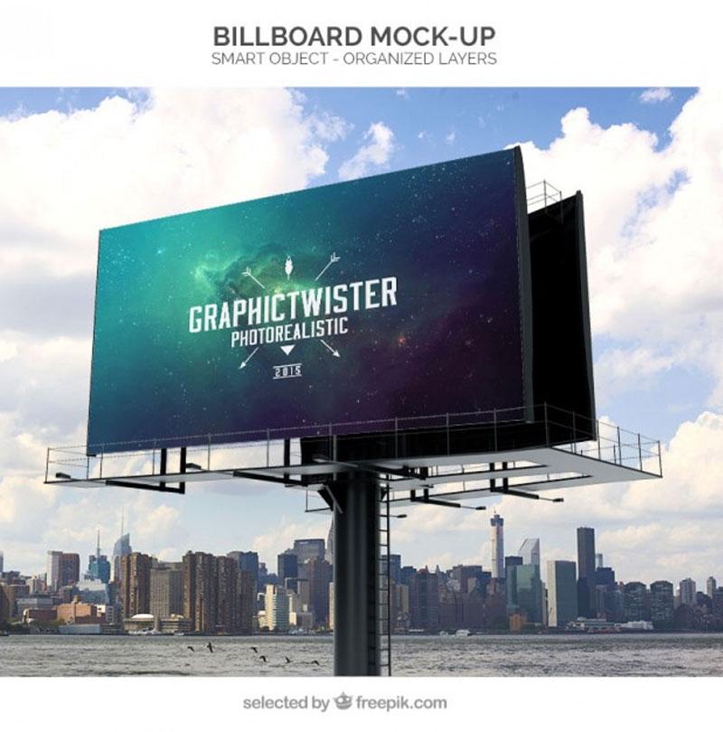 Billboard-mockup-Free-Psd