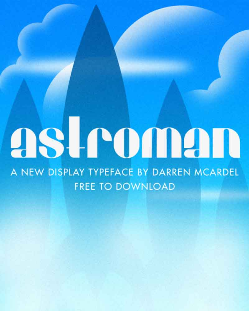 Free-Astroman-Display-Font