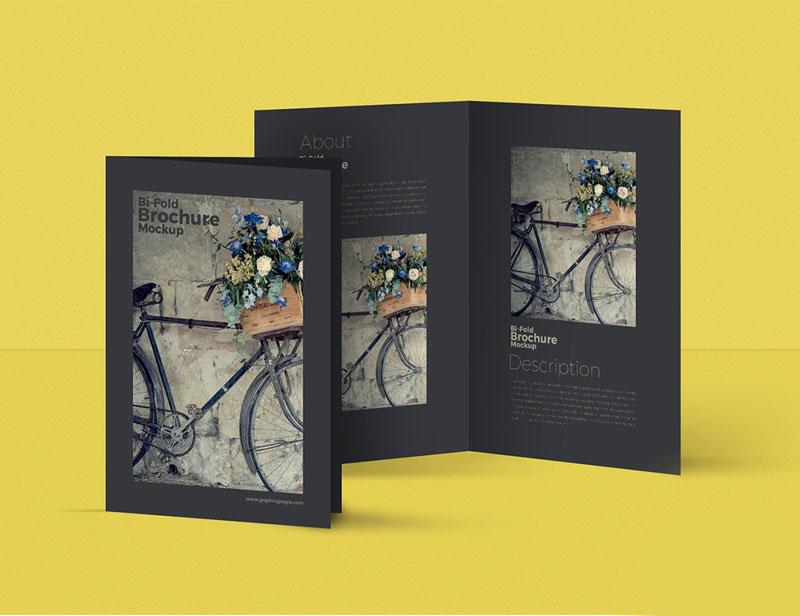 Free-Bi-Fold-Brochure-MockUp-For-Designers