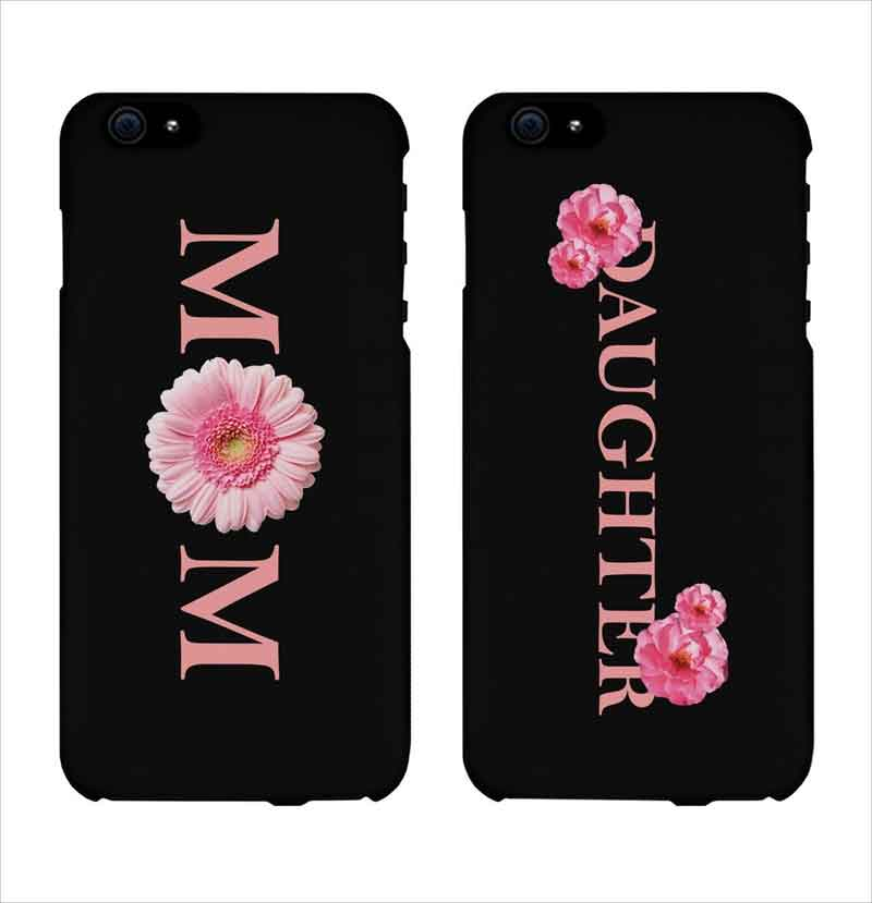 Mom-and-Daughter-Floral-Print-Matching-Phone-Cases