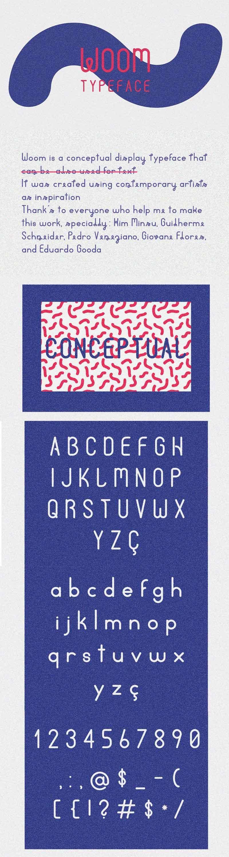 Woom-Display-Free-Typeface
