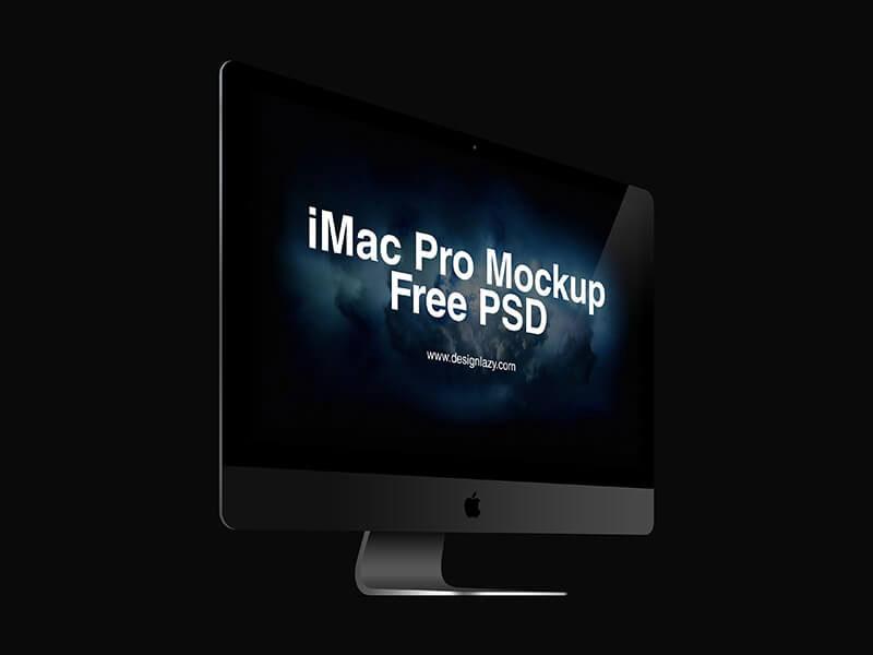 IMac Pro Mockup PSD