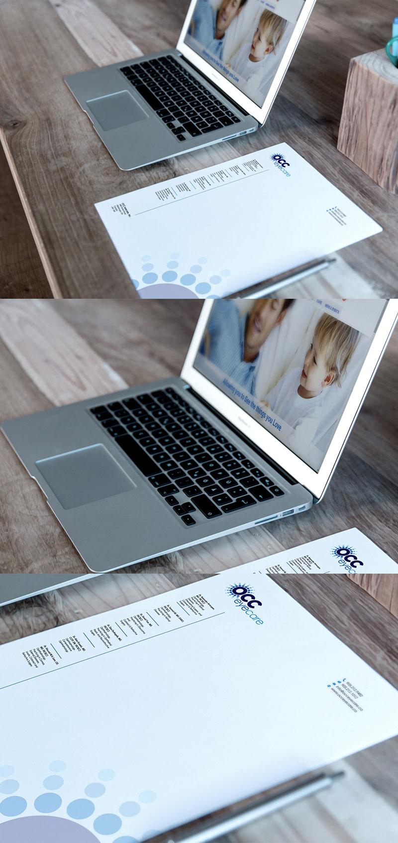 Letterhead-and-MacBook-Mockup