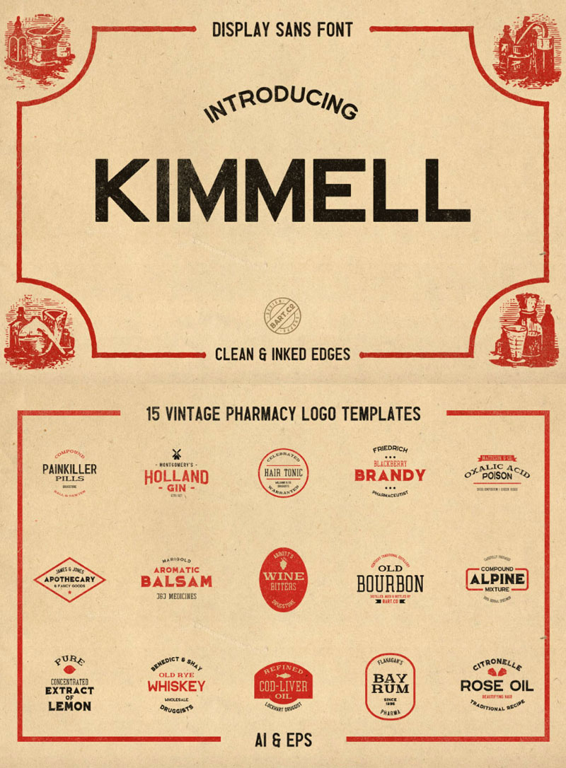 Kimmel-Display-Sans-Free-Font