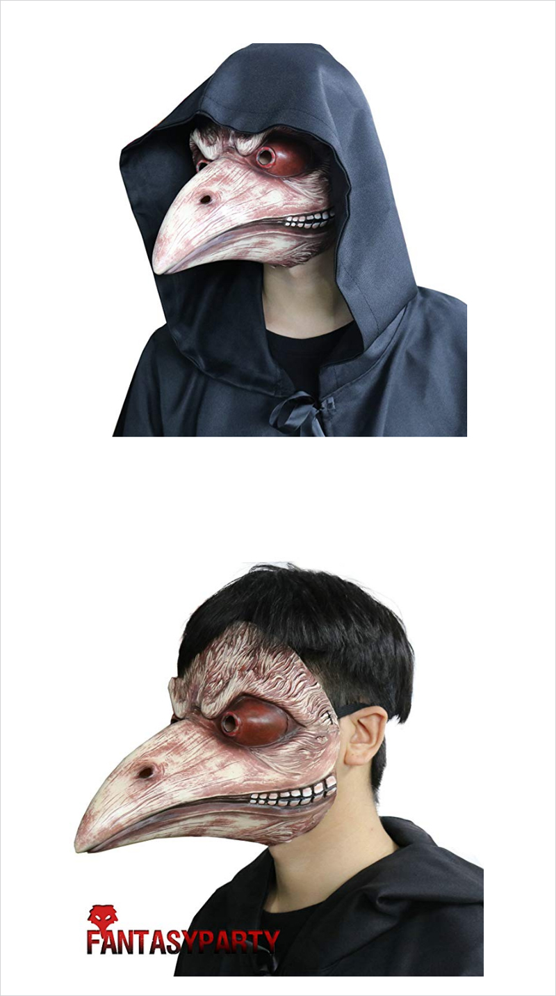 Halloween-Bird-Mask-Beak-Faux-Gothic