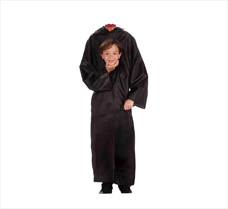 Halloween-Children's-Unisex-Headless-Costume