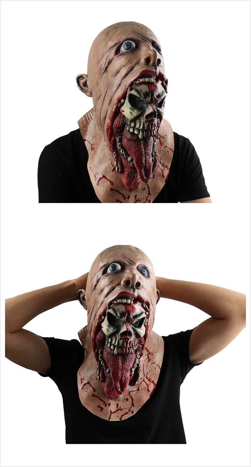 Halloween-Evil-Double-Face-Rubber-Mask
