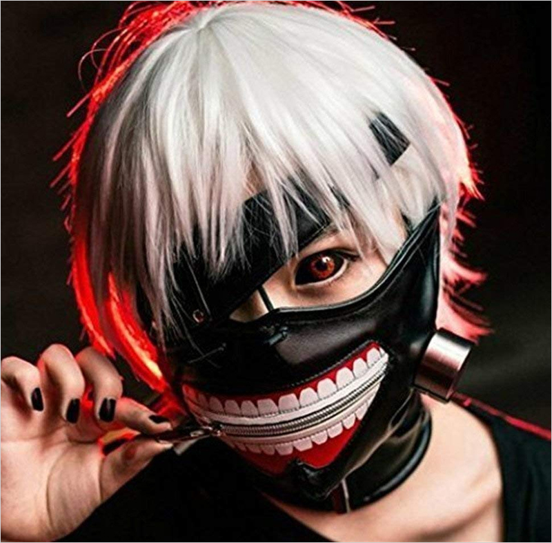 Halloween-Party-Cool-Zipper-Mask