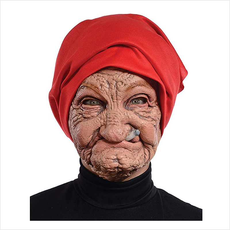 Halloween-Party-Old-Nana-Mask