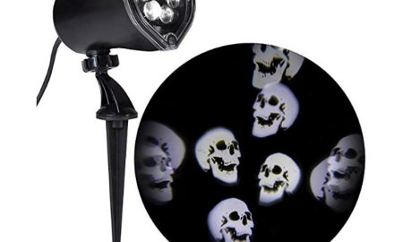 Halloween-Projector-Whirling-Skulls-LED-Spotlight