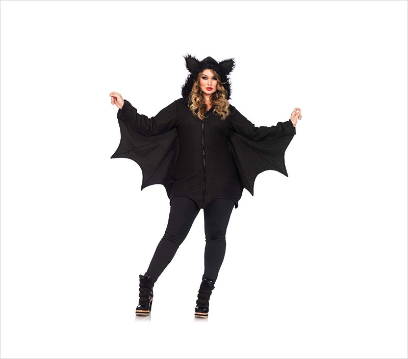 Halloween-Women's-Cozy-Bat-Costume