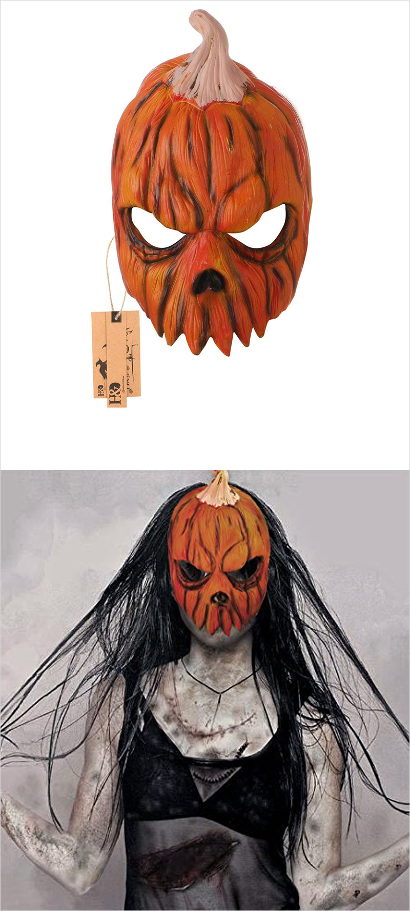 Jack-O-Lantern-Halloween-Pumpkin-Mask