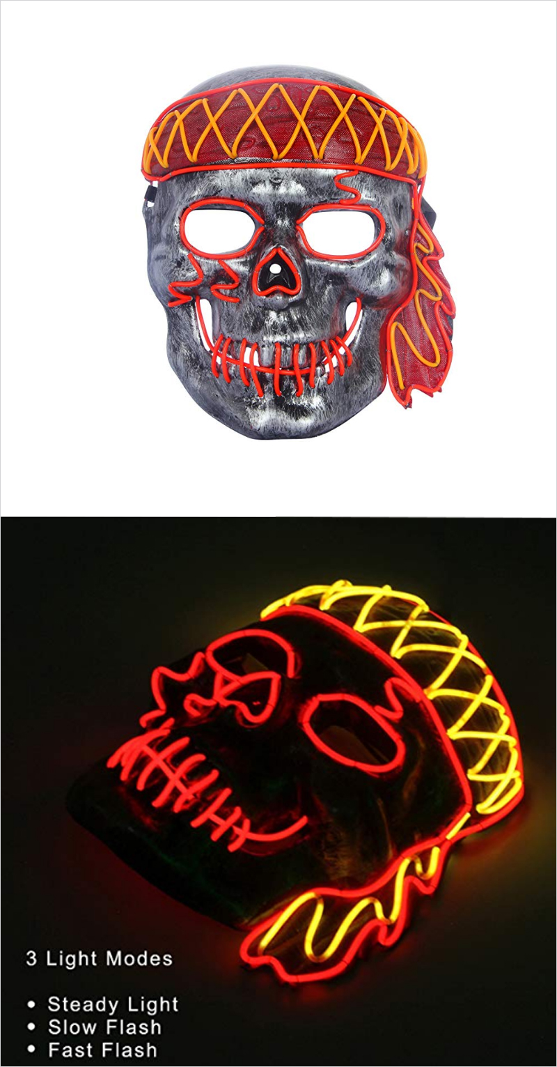 Mens-LED-Light-up-Mask-Halloween-Party