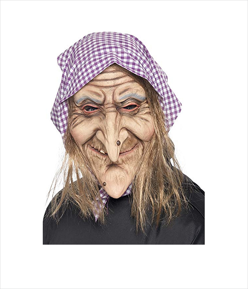 Smiffy's-Men's-Old-Witch-Halloween-Mask
