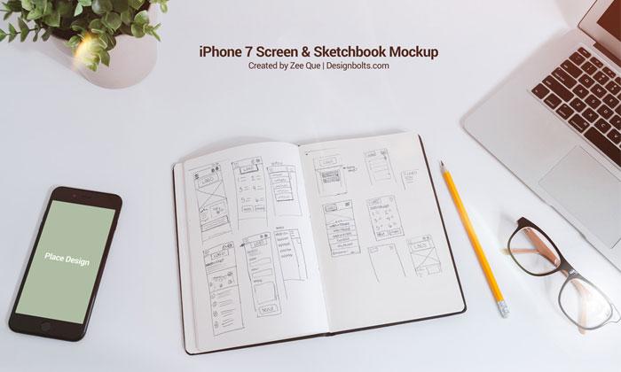 Free-Sketchbook-&-iPhone-7-Mockup-PSD.jpg10